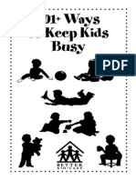101 Ways to Keep Your Kids Busy