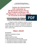 API-Aulas