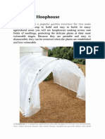 Build a Hoophouse