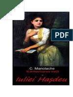 C. Manolache - Scanteetoarea Viata a Iuliei Hasdeu v.0.1