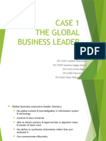 CASE 1 - The Global Business Leader