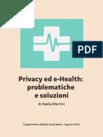 Privacy Ed E-health