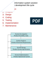 Developing Information System Solution