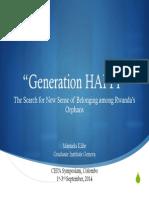 """Generation HAPPI"""