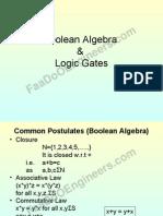 DIGITALLOGICDESIGNNO1BooleanAlgebraLogicGates