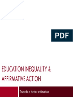 Anatomy of Education Inequality