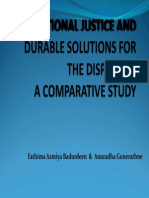 Transitional Justice and Durable Solutions for the Displaced