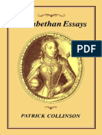 Patrick Collinson Elizabethan Essays 2003