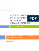 Part 1 Understanding the Foundations of Business Communications