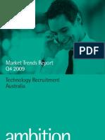 Ambition Tech Market Trends Q4 2009