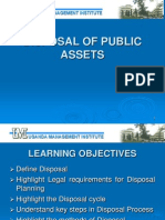 Procurement Training - Disposal of Assets