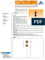 C1079PE Heavy Duty Pneumatic Pumps Series 400200