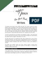 The God That Writes