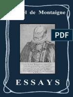 MONTAIGNE - ESSAYS