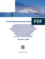 Dhs Grant Program Overview Fy2010