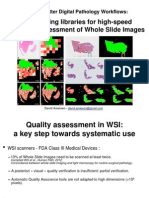 Automatic Quality Assessment of Whole Slide Images