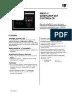 Caterpillar EMCP 4.1 Spec Sheet