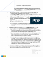 Coke Zero Internship - Independent Contractor Agreement TGILYARD