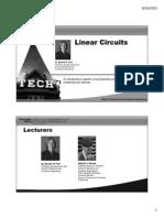 Circuits Lecture Slides Intro&Module1Handouts
