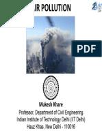 Air Pollution Lec