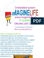 Embedded Systems Online Training in Hyderabad | Bangalore | India - Imagine life