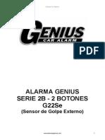 Alarma Genius 2B Se 2 Bot