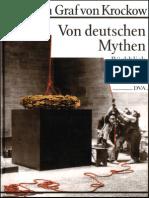 Graf Von Krockow - Von Deutschen Mythen