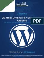 Scrivere un articolo sul Blog