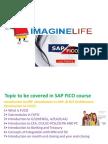 SAP FICO Online Course Training in Hyderabad   Bangalore   India - Imagine life
