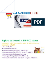 SAP FICO Online Course Training in Hyderabad | Bangalore | India - Imagine life