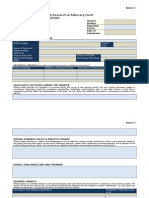 Annex 3 Reporting Format