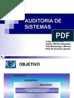 Grupo nro 5 - Auditoría de sistemas