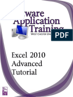 Excel2010 Advanced