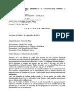 Sentencia D. Arturo Sanz Raga