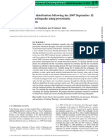 Analysis of Afterslip Distribution Following the 2007 September 12 Southern Sumatra Earthquake Using Poroelastic and Viscoelastic Media