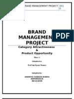 Brand Management Project