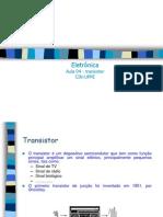 Aula04 Transistores 2005 v02
