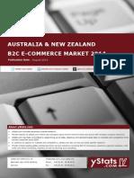 Product Brochure_Australia & New Zealand B2C E-Commerce Report 2014