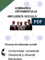 10. Influenta sociala