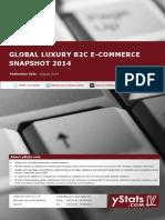 Product Brochure_Global Luxury B2C E-Commerce Snapshot 2014