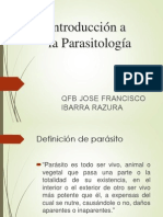 01 PP Introduccion a La Parasitologia