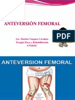 2. Anteversion Femoral