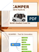Scamper to Toyota IQ
