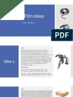 Short Film Ideas