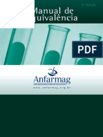 Manual de Equivalência Anfarmag