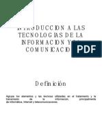 Introduccion a Las Tecnologias de La ion