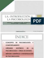 i.- Introducción a La Psicobiología