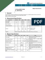 MAG Magnet Strip AS5000-MS-10-300 SpecAS5311 v0 1