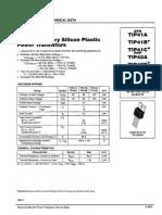 T BJT - TIP41C_TIP42C_power_BJTs (Sonder Pinout)