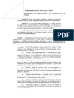 P.D. No. 1829 Penalizing Obstruction of Apprehension and Prosecution of Criminal Offenders